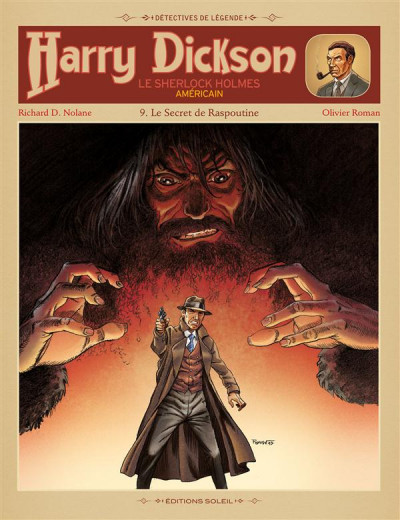 Couverture Harry Dickson tome 9 - le secret de Raspoutine
