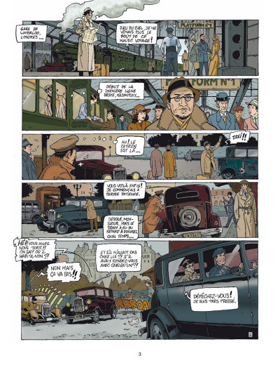 Page 1 Harry Dickson tome 9 - le secret de Raspoutine