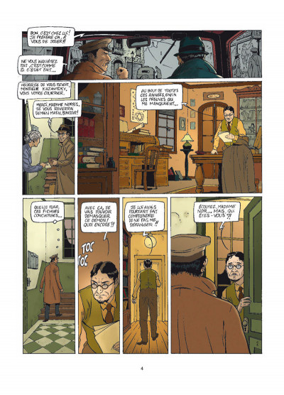 Page 2 Harry Dickson tome 9 - le secret de Raspoutine