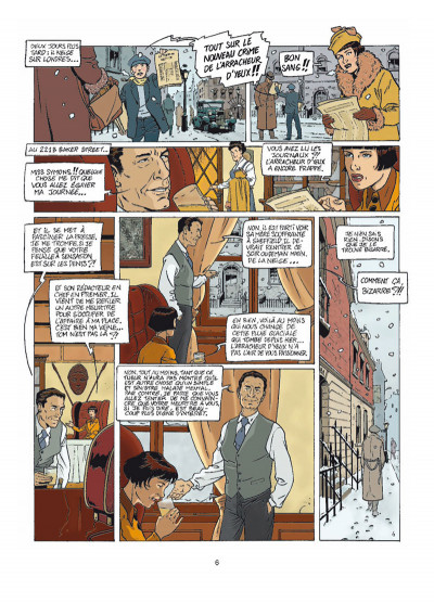 Page 4 Harry Dickson tome 9 - le secret de Raspoutine