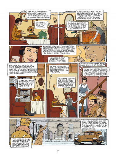Page 5 Harry Dickson tome 9 - le secret de Raspoutine