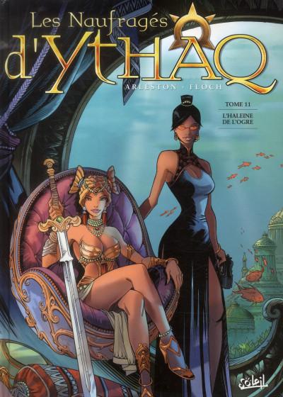 Couverture Les naufragés d'Ythaq tome 11