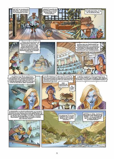 Page 6 Les naufragés d'Ythaq tome 11