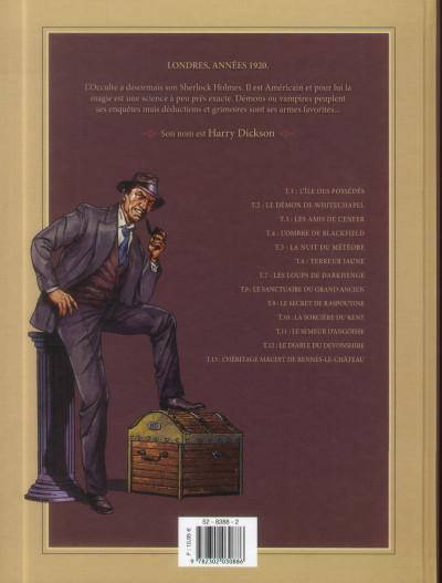 Dos Harry Dickson tome 10 - la Sorcière du Kent