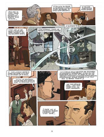 Page 0 Harry Dickson tome 10 - la Sorcière du Kent