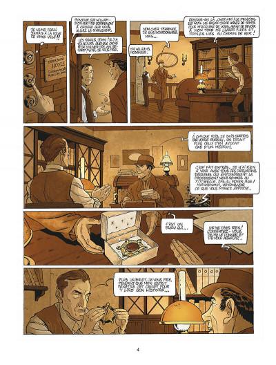 Page 5 Harry Dickson tome 10 - la Sorcière du Kent