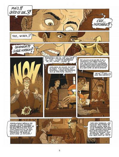 Page 6 Harry Dickson tome 10 - la Sorcière du Kent