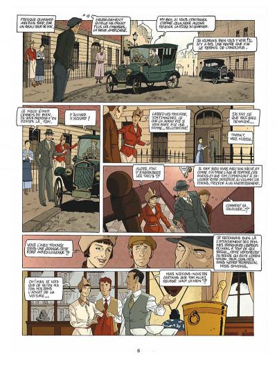 Page 7 Harry Dickson tome 10 - la Sorcière du Kent