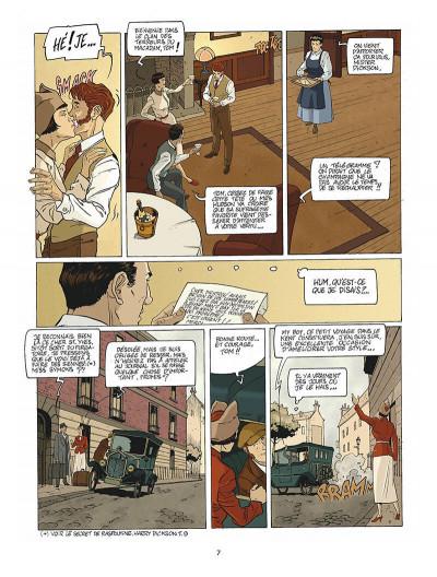 Page 8 Harry Dickson tome 10 - la Sorcière du Kent