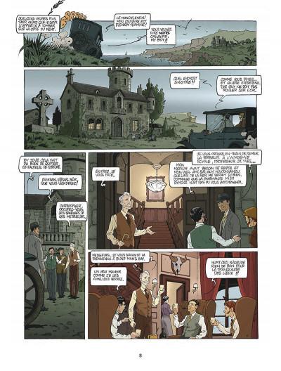 Page 9 Harry Dickson tome 10 - la Sorcière du Kent