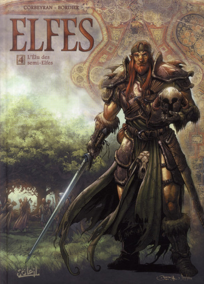 Couverture Elfes tome 4