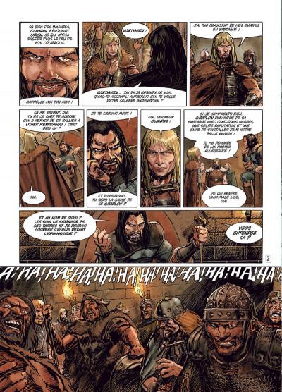 Page 2 Ys la légende tome 3