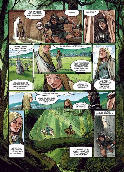 Page 4 Ys la légende tome 3