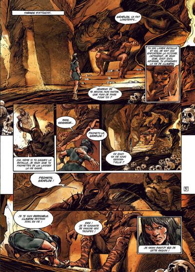 Page 5 Ys la légende tome 3