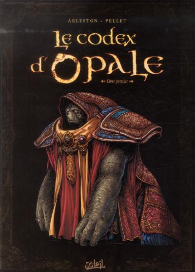Couverture le codex d'opale tome 1