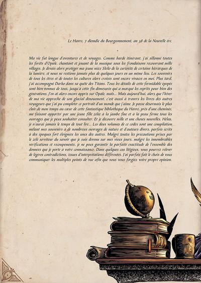 Page 3 le codex d'opale tome 1