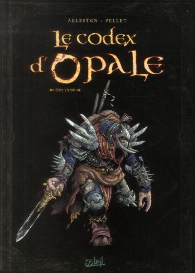 Couverture le codex d'opale tome 2