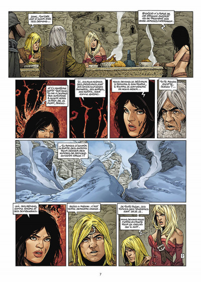 Page 8 les forêts d'opale tome 8 - les hordes de la nuit