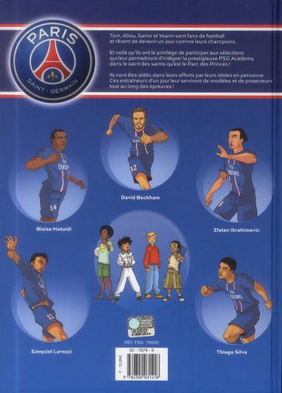 Dos PSG academy tome 1