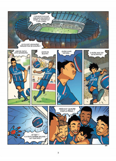 Page 1 PSG academy tome 1