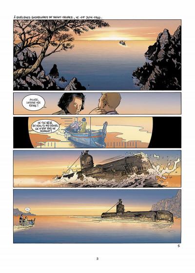 Page 4 bleu blanc sang tome 2 - blanc douce France
