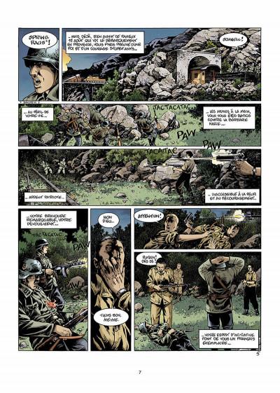 Page 8 bleu blanc sang tome 2 - blanc douce France
