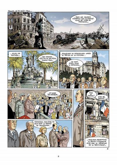 Page 9 bleu blanc sang tome 2 - blanc douce France