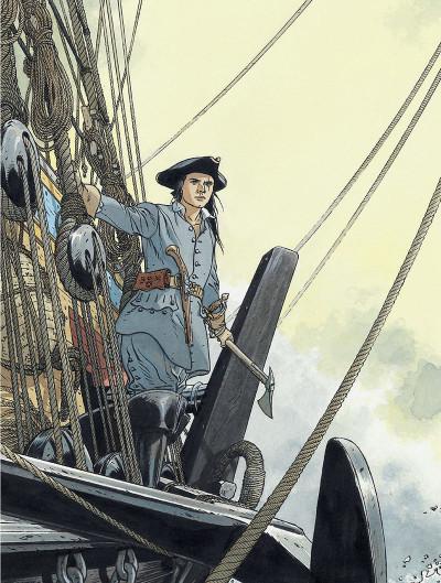 Page 8 l'épervier ; les escales d'un corsaire