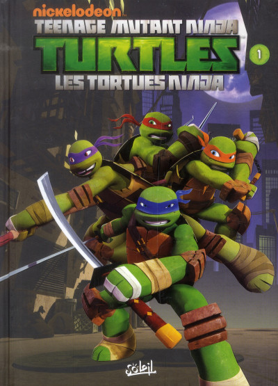 image de TMNT - les tortues ninja tome 1 - premiers pas