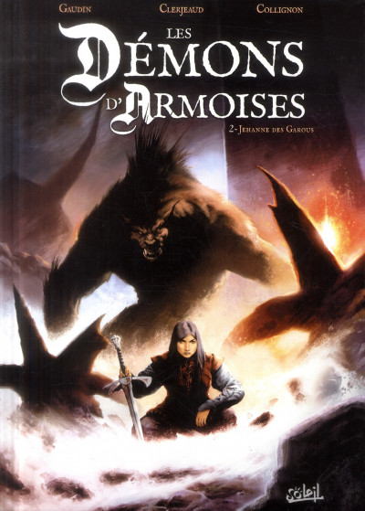 Couverture les démons d'Armoises tome 2 - Jehanne des Garous