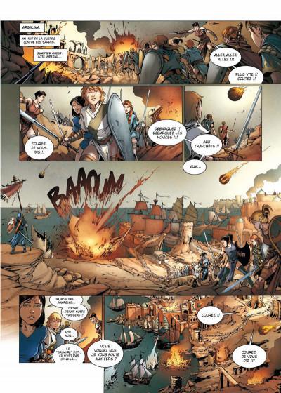 Page 1 La geste des chevaliers dragons tome 17 - la guerre des Sardes 1