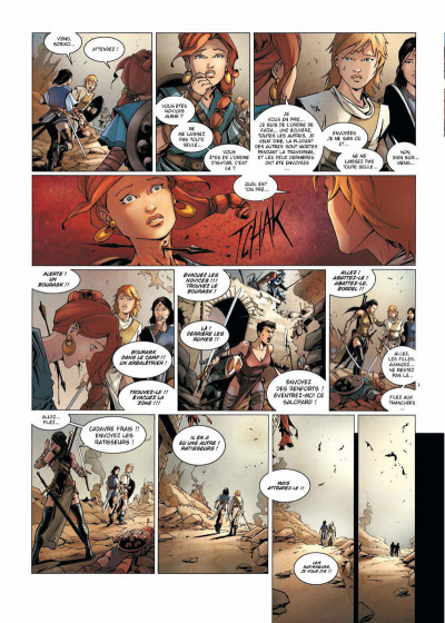 Page 2 La geste des chevaliers dragons tome 17 - la guerre des Sardes 1