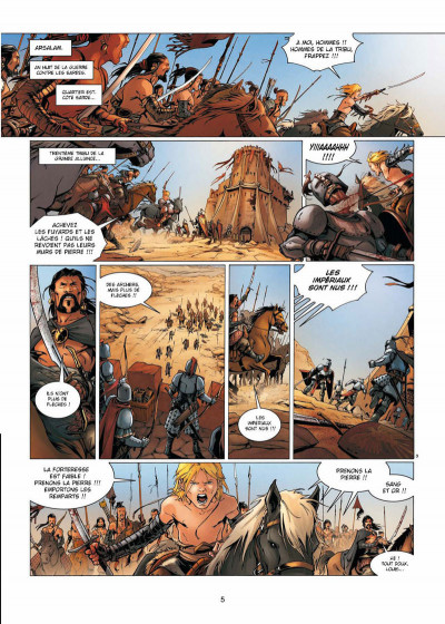 Page 3 La geste des chevaliers dragons tome 17 - la guerre des Sardes 1