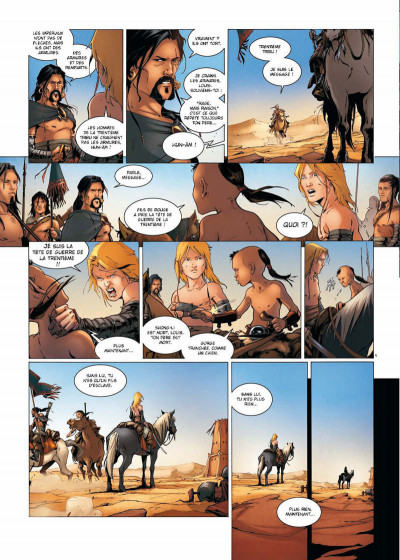 Page 4 La geste des chevaliers dragons tome 17 - la guerre des Sardes 1