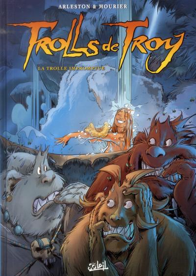 Couverture Trolls de Troy tome 17 - la trolle impromptue