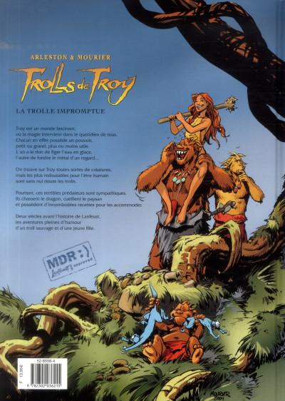 Dos Trolls de Troy tome 17 - la trolle impromptue
