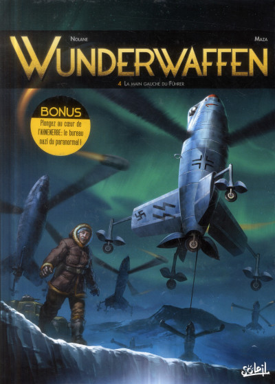 Couverture Wunderwaffen tome 4