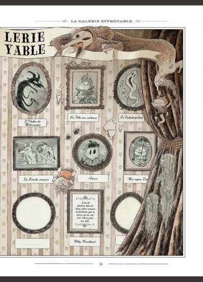 Page 4 L'encyclopédie curieuse et bizarre par Billy Brouillard tome 1