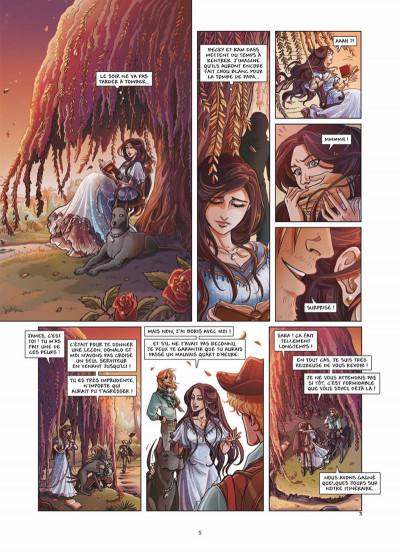 Page 3 princesse Sara tome 6 - bas les masques