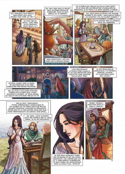 Page 4 princesse Sara tome 6 - bas les masques