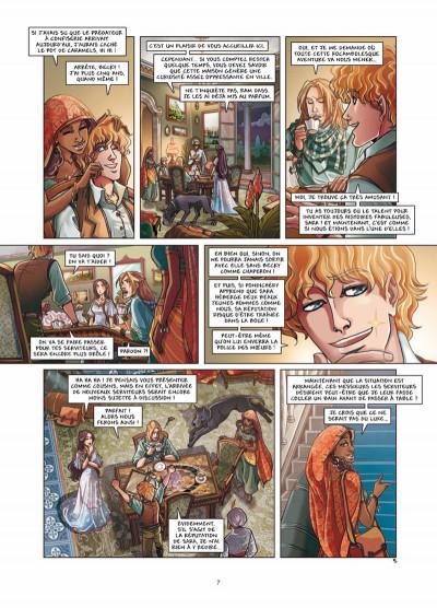 Page 5 princesse Sara tome 6 - bas les masques