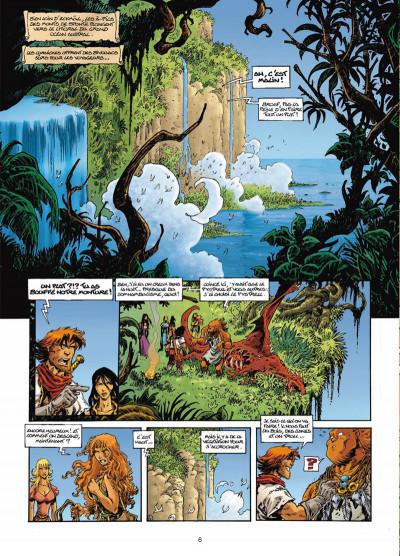 Page 4 Lanfeust odyssey tome 5 - le piège des sables