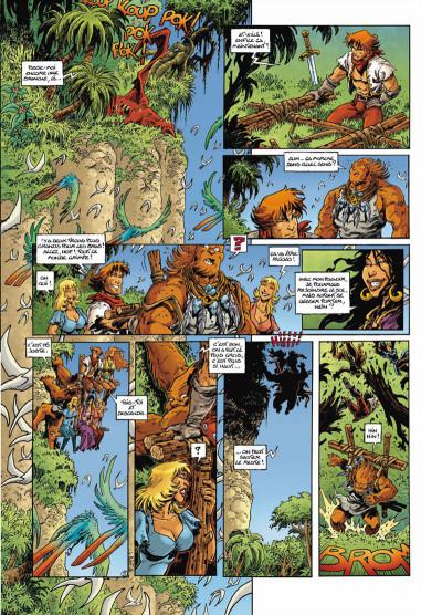 Page 5 Lanfeust odyssey tome 5 - le piège des sables