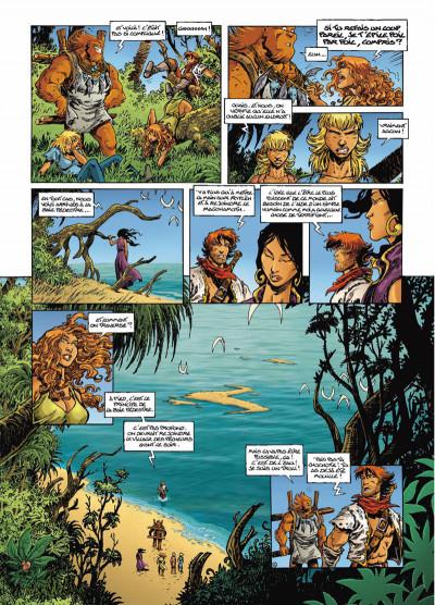 Page 6 Lanfeust odyssey tome 5 - le piège des sables
