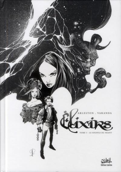 image de elixirs tome 3 - le souffle du néant - Tirage limité noir & blanc