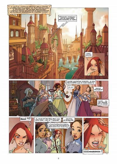 Page 1 Elixirs tome 3 - Le souffle du néant - Tirage limité N&B