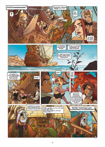 Page 2 Elixirs tome 3 - Le souffle du néant - Tirage limité N&B
