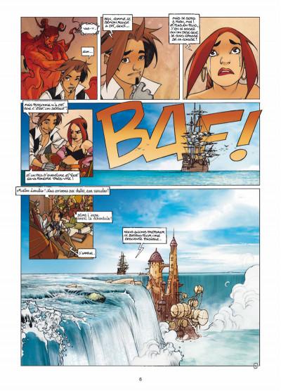 Page 4 Elixirs tome 3 - Le souffle du néant - Tirage limité N&B