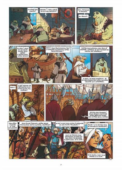 Page 5 Elixirs tome 3 - Le souffle du néant - Tirage limité N&B