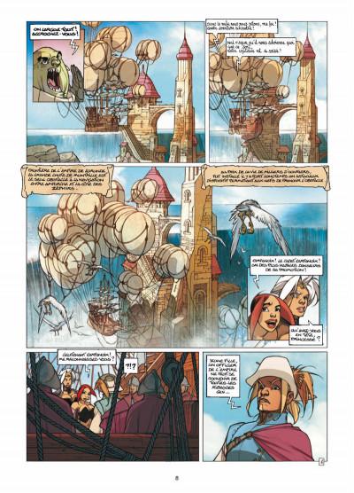 Page 6 Elixirs tome 3 - Le souffle du néant - Tirage limité N&B